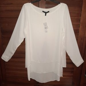 Long tunic style blouse